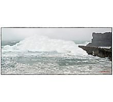 """"""" Storm alert for Cornwall"""" Photographic Print"""