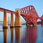 The Forth Bridge at Dawn by Karen Thorburn