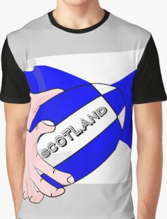 Rugby Scotland Flag Graphic T-Shirt
