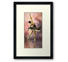 The Ballerina * Art Framed Print