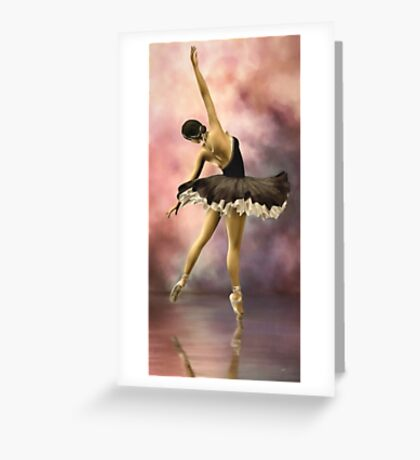 The Ballerina * Art Greeting Card
