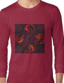 Sensuous Lizards Long Sleeve T-Shirt