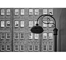 Lonely street light Photographic Print