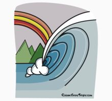 Tahiti Wave by colourfreestyle