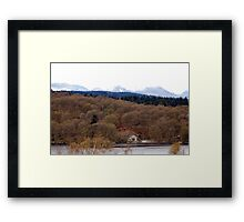 Near Bowness on Windermere Framed Print