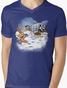 Attack of the Deranged Killer Snow Walkers Mens V-Neck T-Shirt