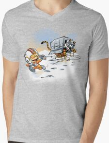 Attack of the Deranged Killer Snow Walkers Mens V-Neck T-Shirt