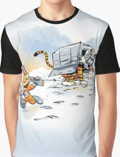 Attack of the Deranged Killer Snow Walkers Graphic T-Shirt