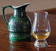Nice drop of Laphroaig by Jamie Shirlaw
