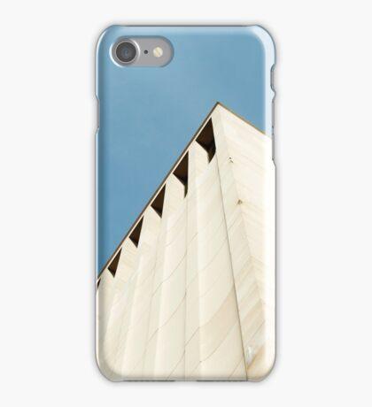 Blue Sky | High Building iPhone Case/Skin