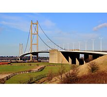 Humber Bridge, South side Photographic Print