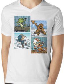 Playful Rebels Mens V-Neck T-Shirt