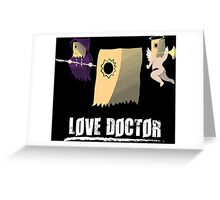 Love Doctor Faust Greeting Card