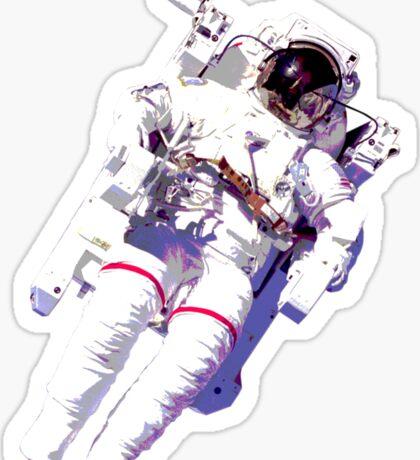 Floating Astronaut Sticker