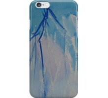 Blue branches iPhone case iPhone Case/Skin