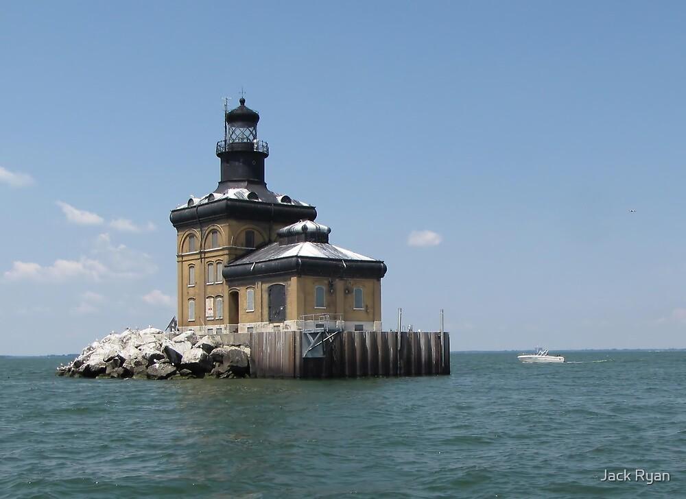 Toledo Harbor Lighthouse by Jack Ryan