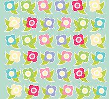 Sweet Flowers iPhone Case by sweettoothliz