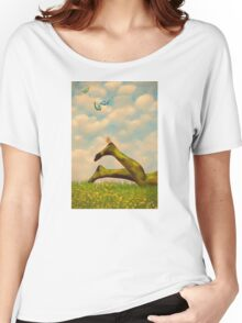Let's Hunt  Women's Relaxed Fit T-Shirt