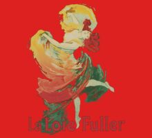Jules Cheret - La Loie Fuller One Piece - Short Sleeve