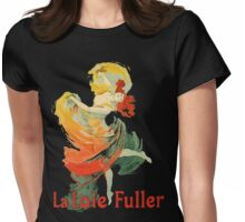 Jules Cheret - La Loie Fuller Womens Fitted T-Shirt