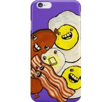 Eggs, Bacon, Grits, SAUSAGE! iPhone Case/Skin