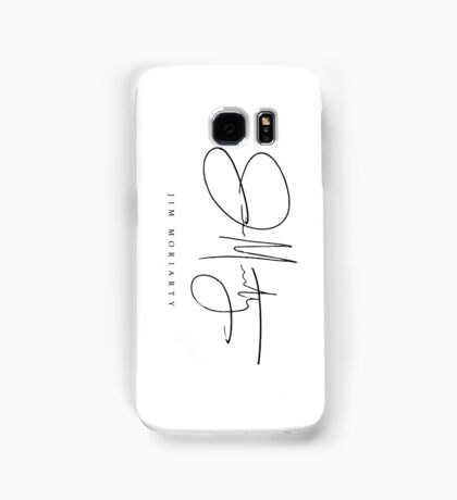 Jim Moriarty [Sherlock Signature Series] Samsung Galaxy Case/Skin