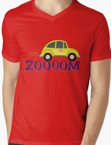 Zoooom! Mens V-Neck T-Shirt