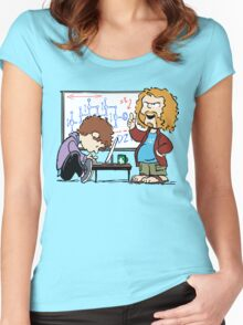 Pied Piper's Peanuts Women's Fitted Scoop T-Shirt