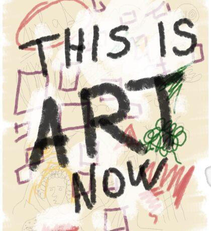 This is ART! Sticker