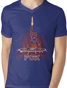 FOXTRON Mens V-Neck T-Shirt