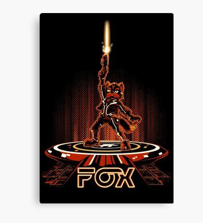 FOXTRON Canvas Print