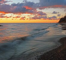 Huron Sunrise by Bill Spengler