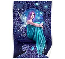 Astraea Fairy with Butterflies Poster