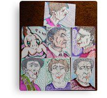 more cartoons Canvas Print