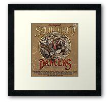 The Original Solid Gold Dancers Framed Print