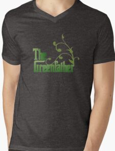 The Greenfather: Environmental Parody Mens V-Neck T-Shirt