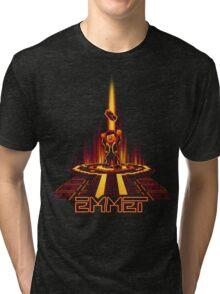 EMMETRON (Awesome Variant) Tri-blend T-Shirt