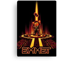 EMMETRON (Awesome Variant) Canvas Print