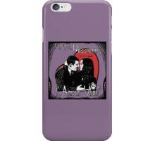"""Un Fou, Passionné, l'Amour Vrai!""- One Crazy, Passionate, True Love! (purple) iPhone Case/Skin"