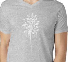l'arbre blanc Mens V-Neck T-Shirt