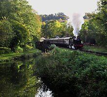 Steam Train by Pamsar