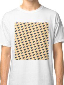 Pop Art Ocarina Tilted Pattern Classic T-Shirt