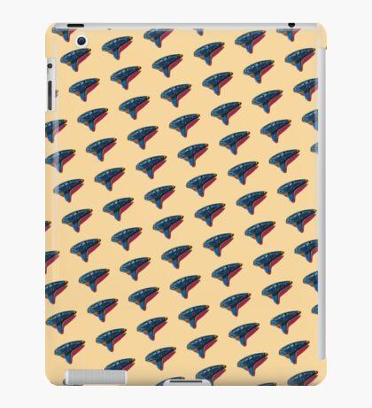 Pop Art Ocarina Tilted Pattern iPad Case/Skin
