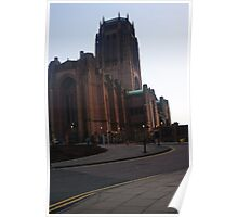 Dusk at the Cathedral Poster