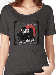 """Un Fou, Passionné, l'Amour Vrai!""- One Crazy, Passionate, True Love! (grey) Women's Relaxed Fit T-Shirt"