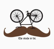 Hipster Bike Mustache  by MFBike