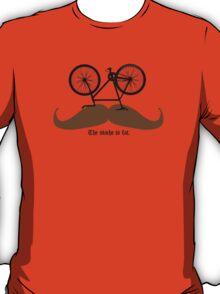 Hipster Bike Mustache  T-Shirt