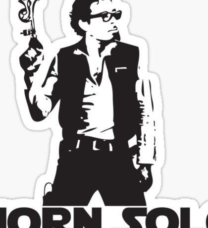 Horn Solo T-Shirt Sticker
