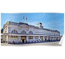Cardiff Central Railway Station Poster