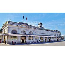 Cardiff Central Railway Station Photographic Print